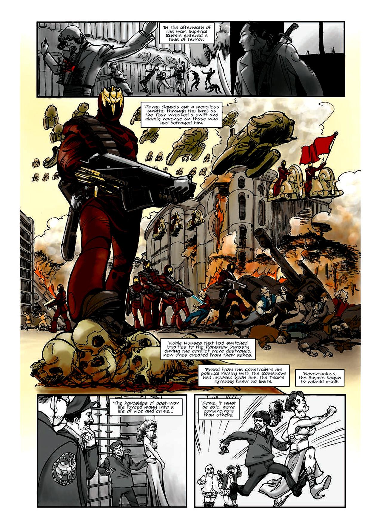 Read online Nikolai Dante comic -  Issue # TPB 6 - 8