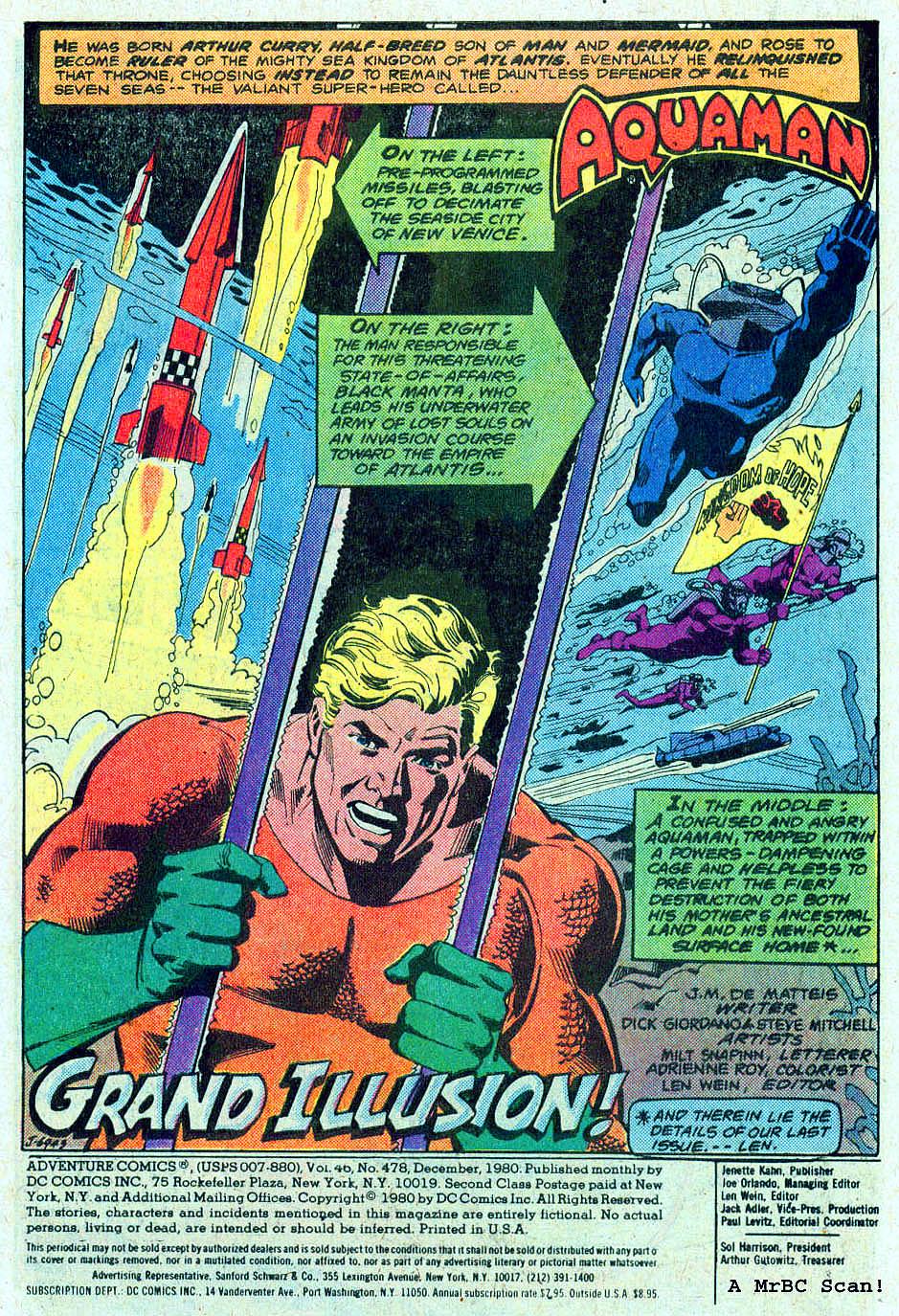 Read online Adventure Comics (1938) comic -  Issue #478 - 2