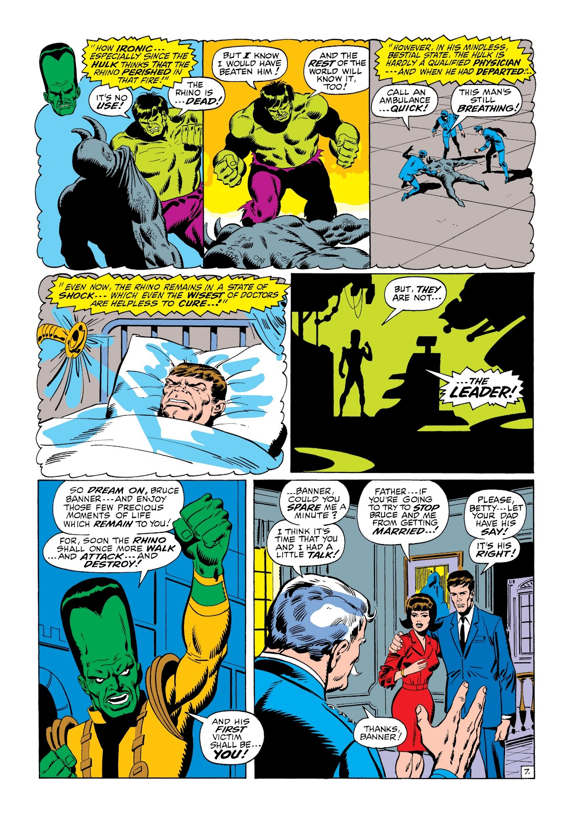 Read online Marvel Masterworks: The Incredible Hulk comic -  Issue # TPB 6 (Part 1) - 58