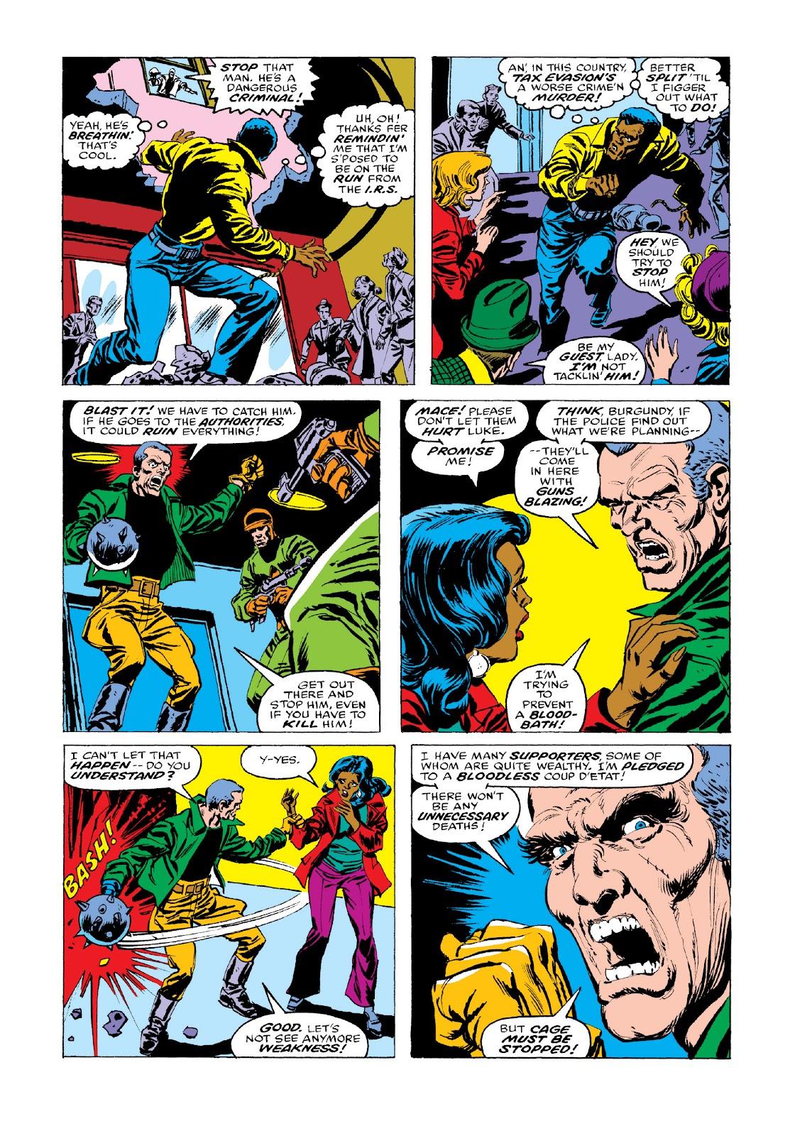 Read online Marvel Masterworks: Luke Cage, Power Man comic -  Issue # TPB 3 (Part 3) - 52