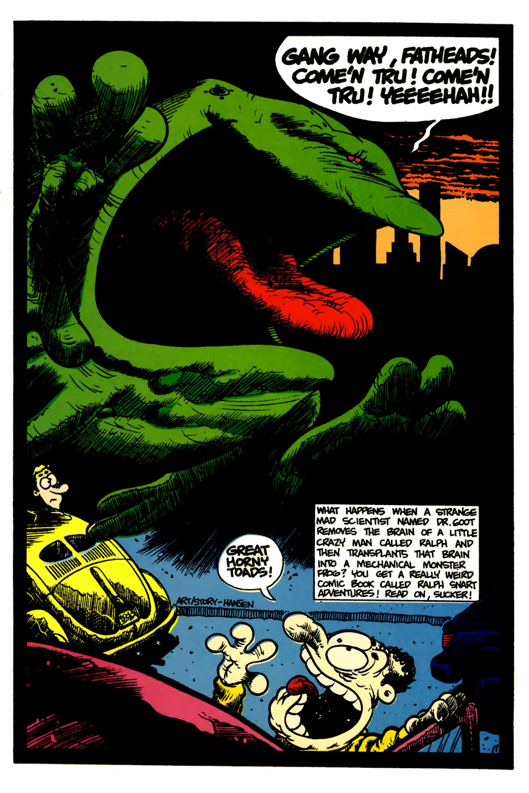 Ralph Snart Adventures (1988) issue 5 - Page 3
