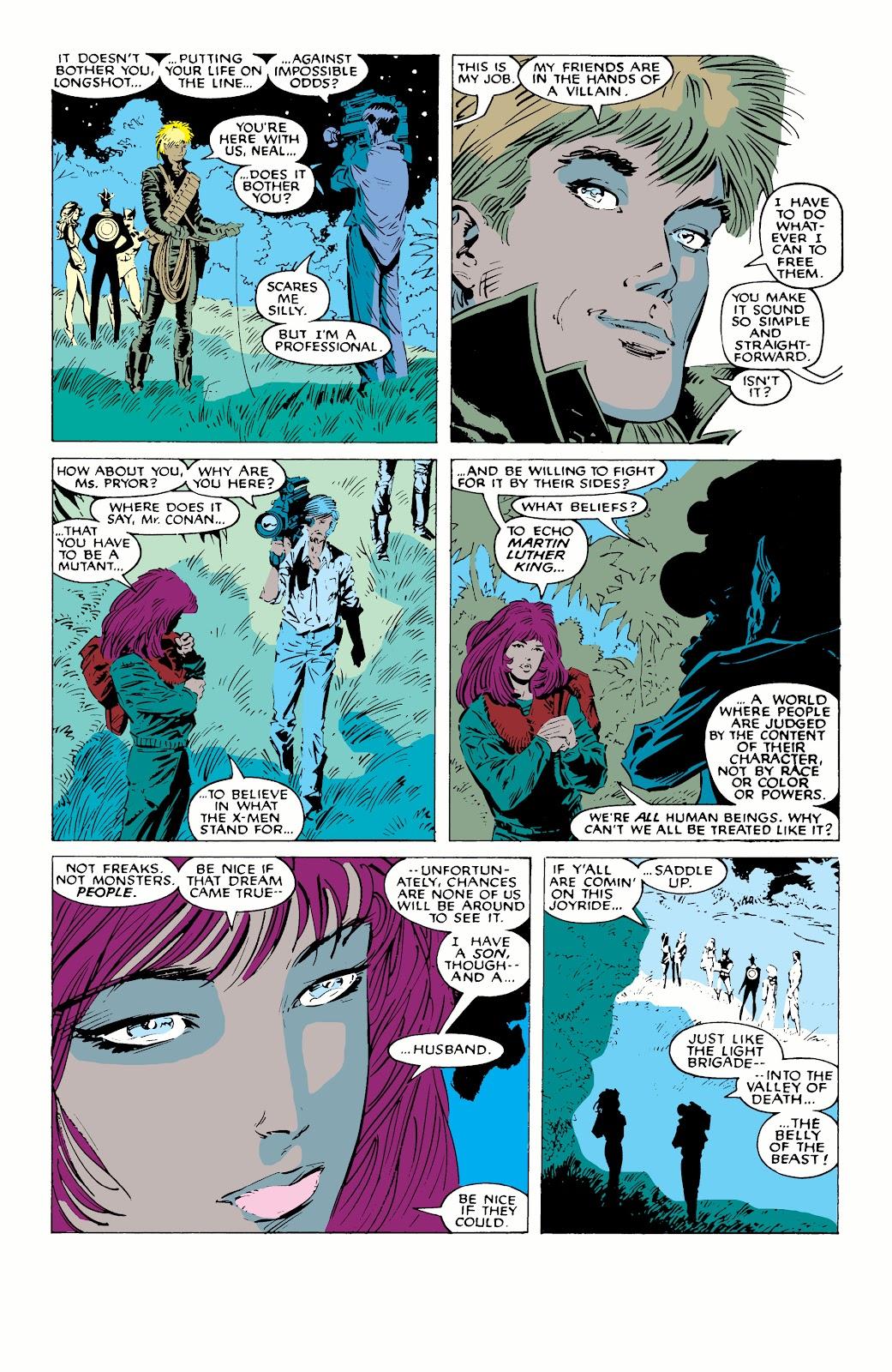 Read online X-Men Milestones: Fall of the Mutants comic -  Issue # TPB (Part 1) - 79