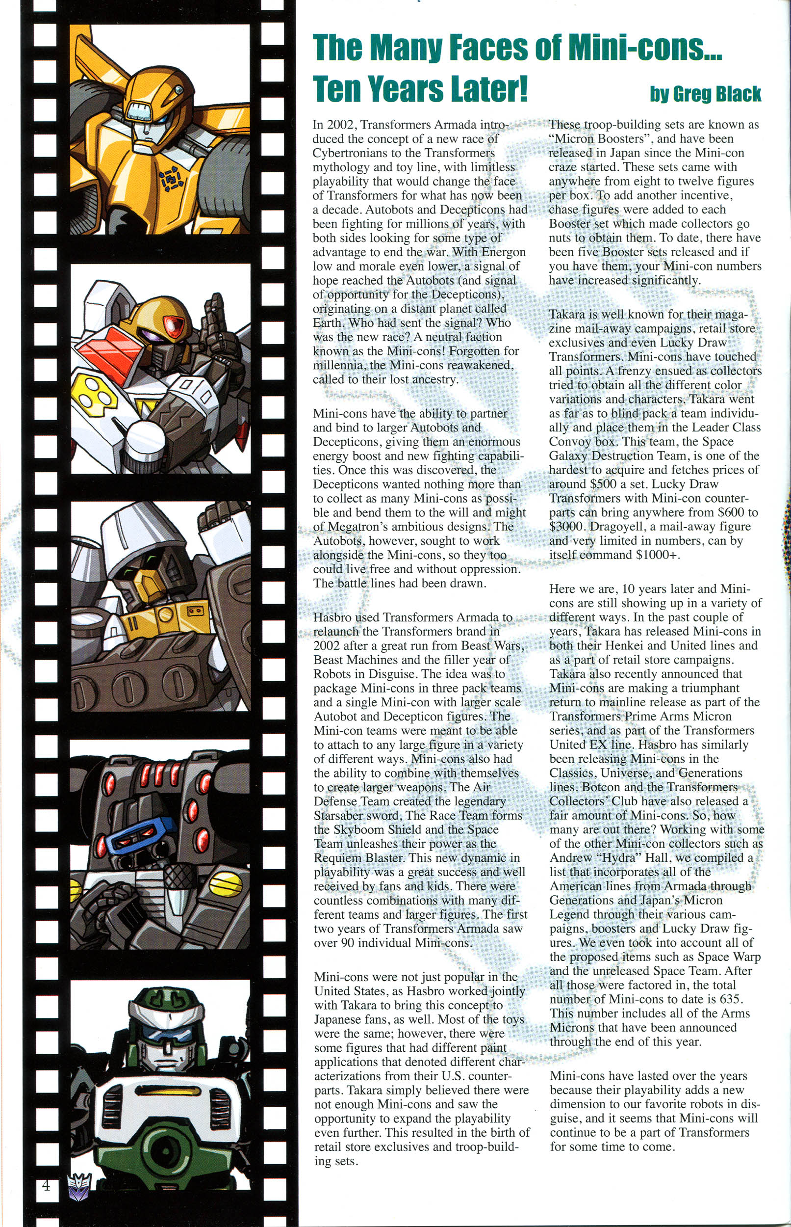 Read online Transformers: Collectors' Club comic -  Issue #47 - 4