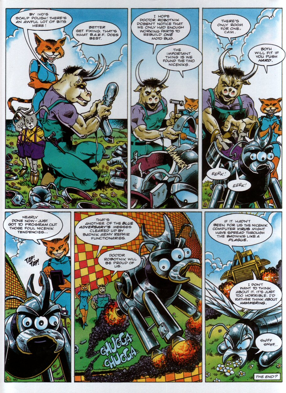 Read online Sonic the Comic comic -  Issue #34 - 23