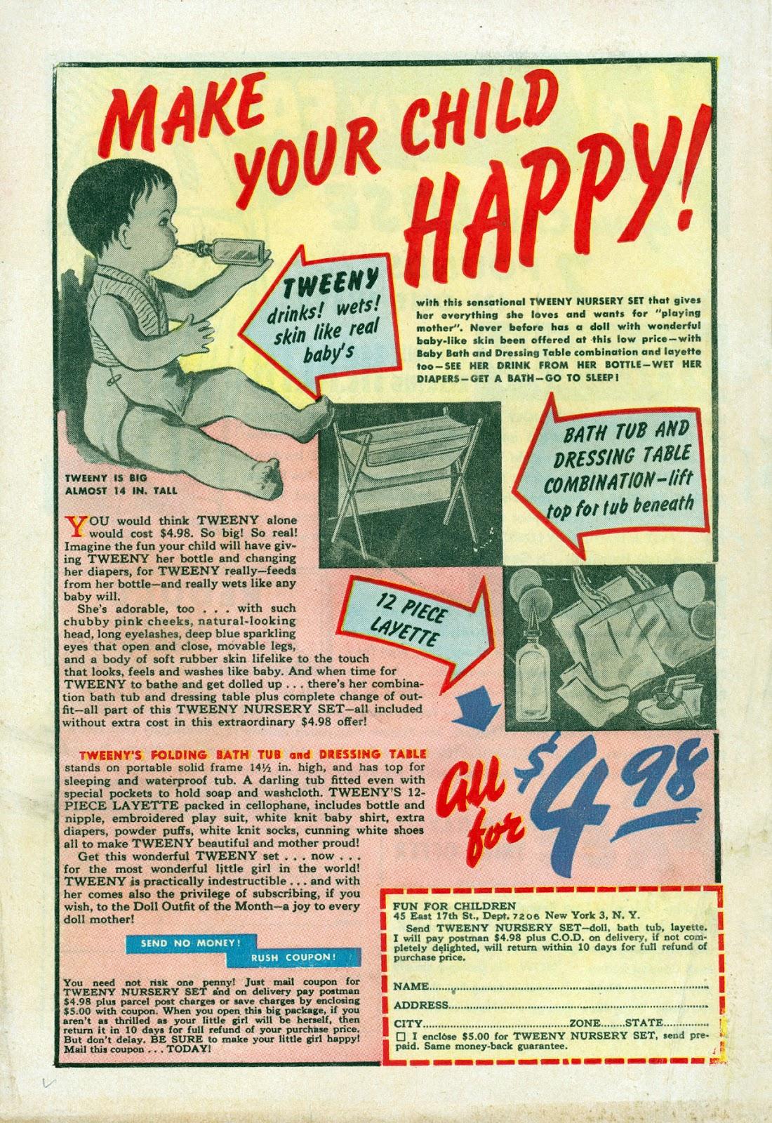 Read online Comedy Comics (1948) comic -  Issue #3 - 36