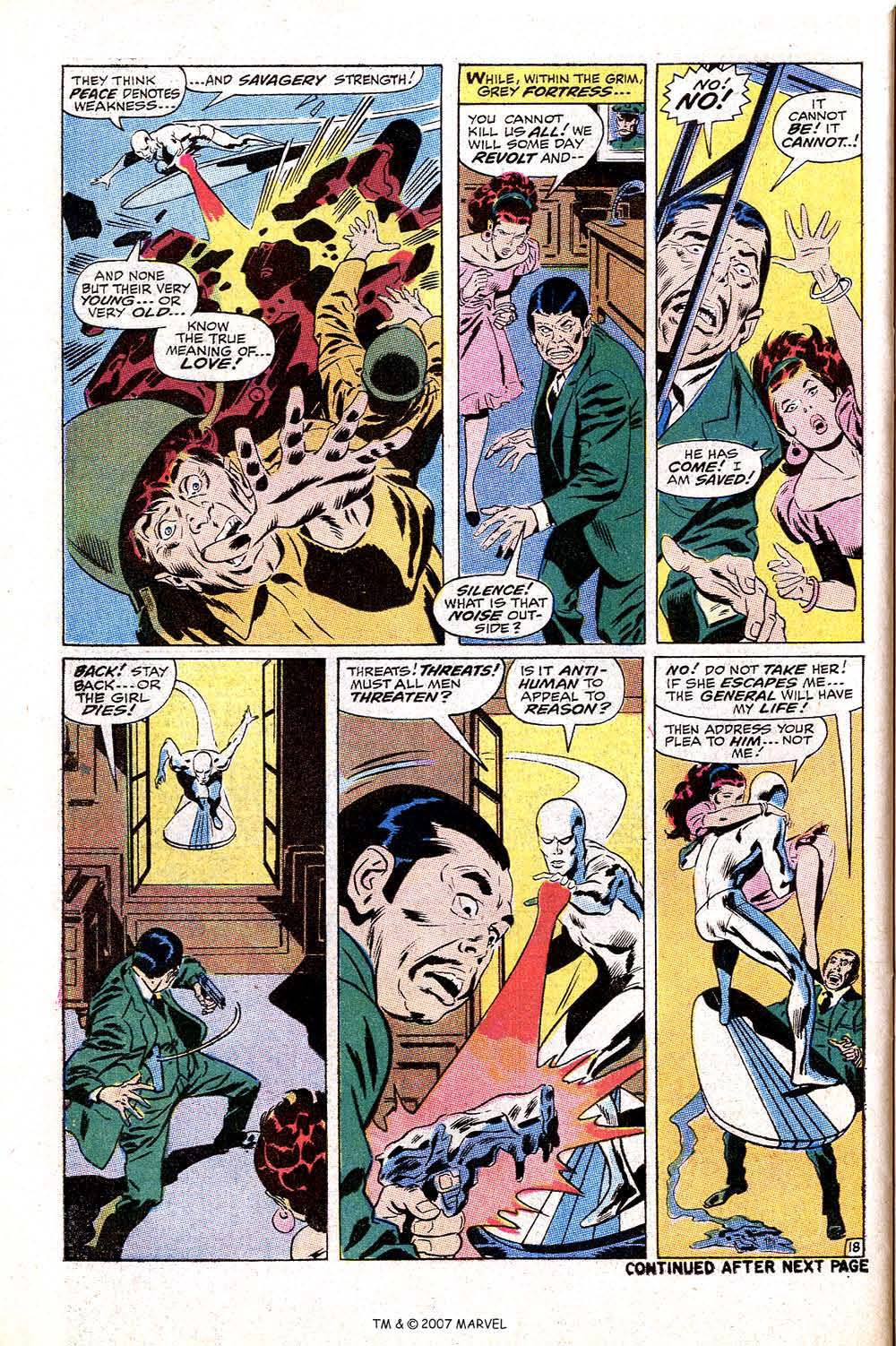 Read online Silver Surfer (1968) comic -  Issue #10 - 30