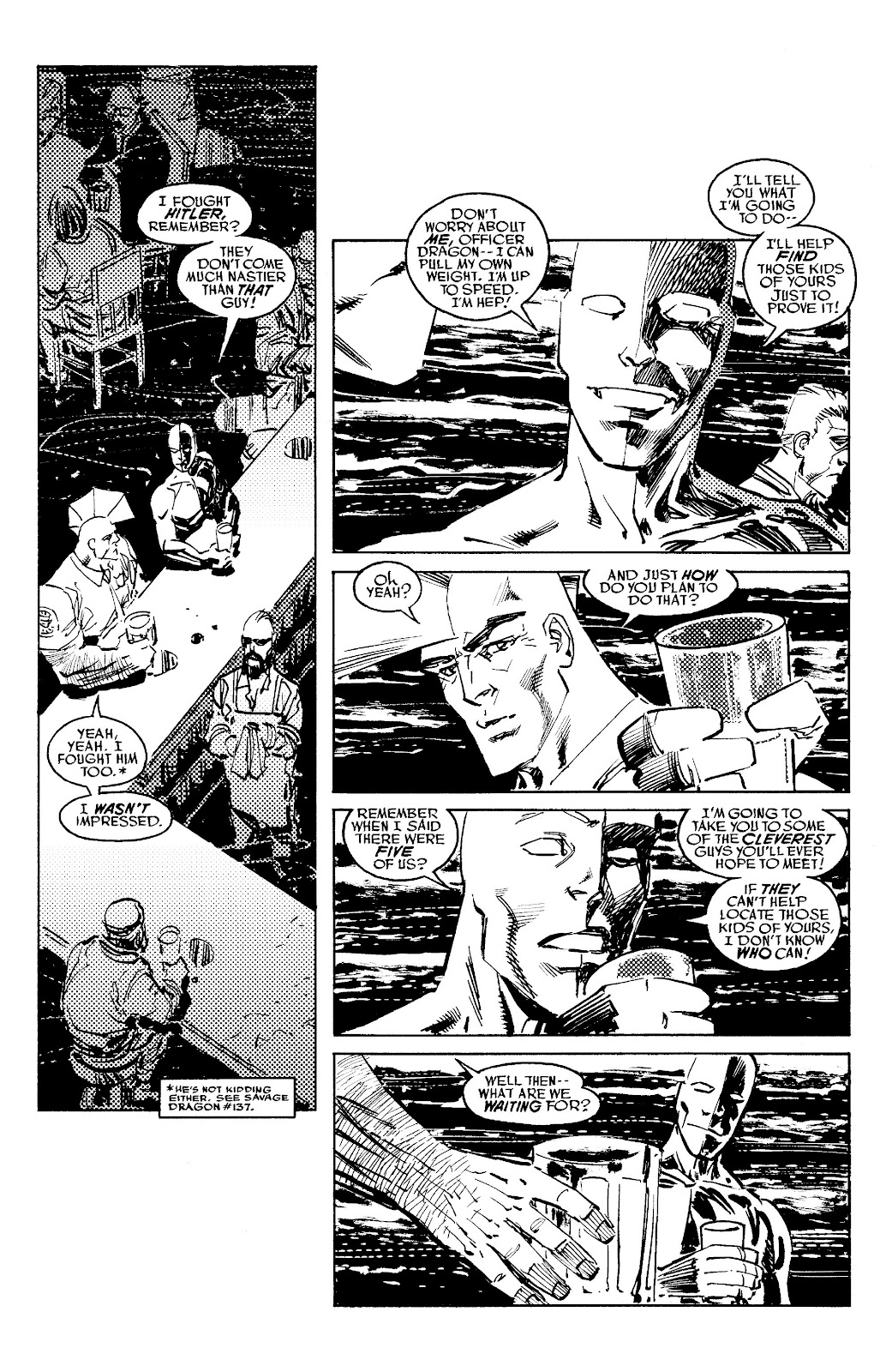 Read online Savage Dragon Archives comic -  Issue # TPB 6 (Part 5) - 38