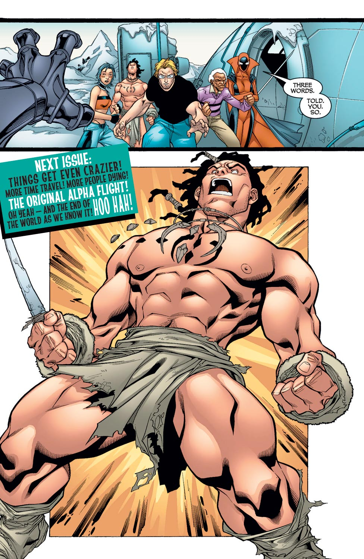 Read online Alpha Flight (2004) comic -  Issue #9 - 22