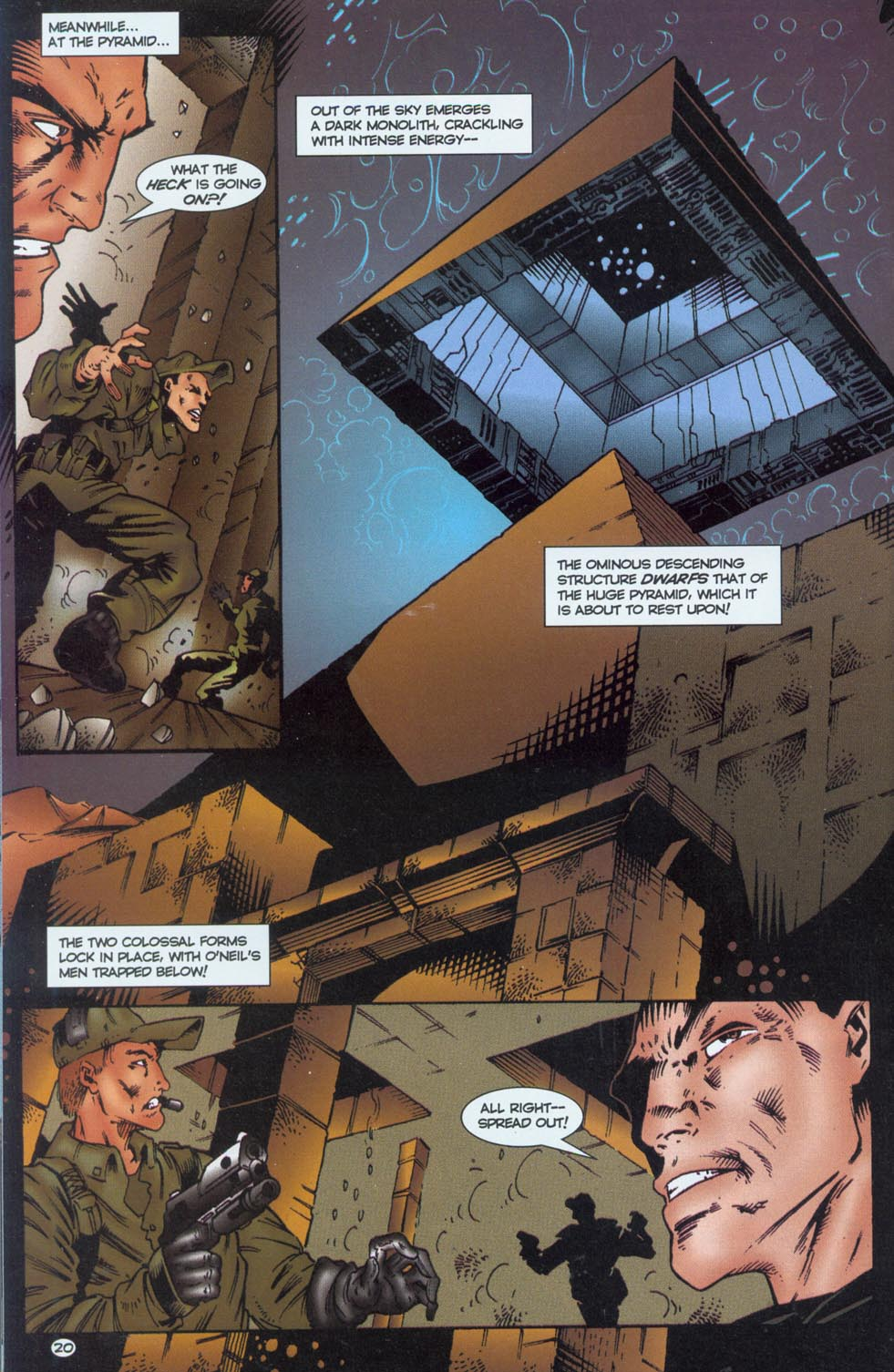 Read online Stargate comic -  Issue #1 - 22