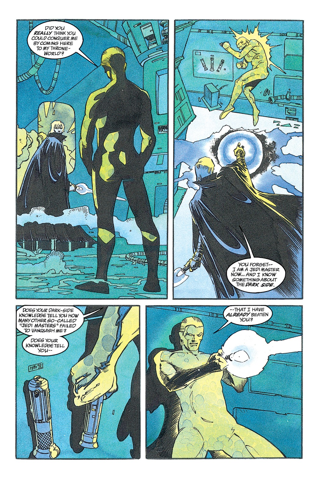 Read online Star Wars: Dark Empire Trilogy comic -  Issue # TPB (Part 2) - 28