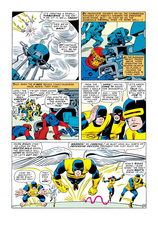 Read online Uncanny X-Men (1963) comic -  Issue #16 - 15