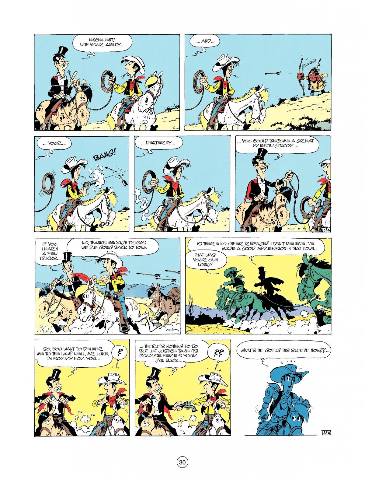 Read online A Lucky Luke Adventure comic -  Issue #37 - 30