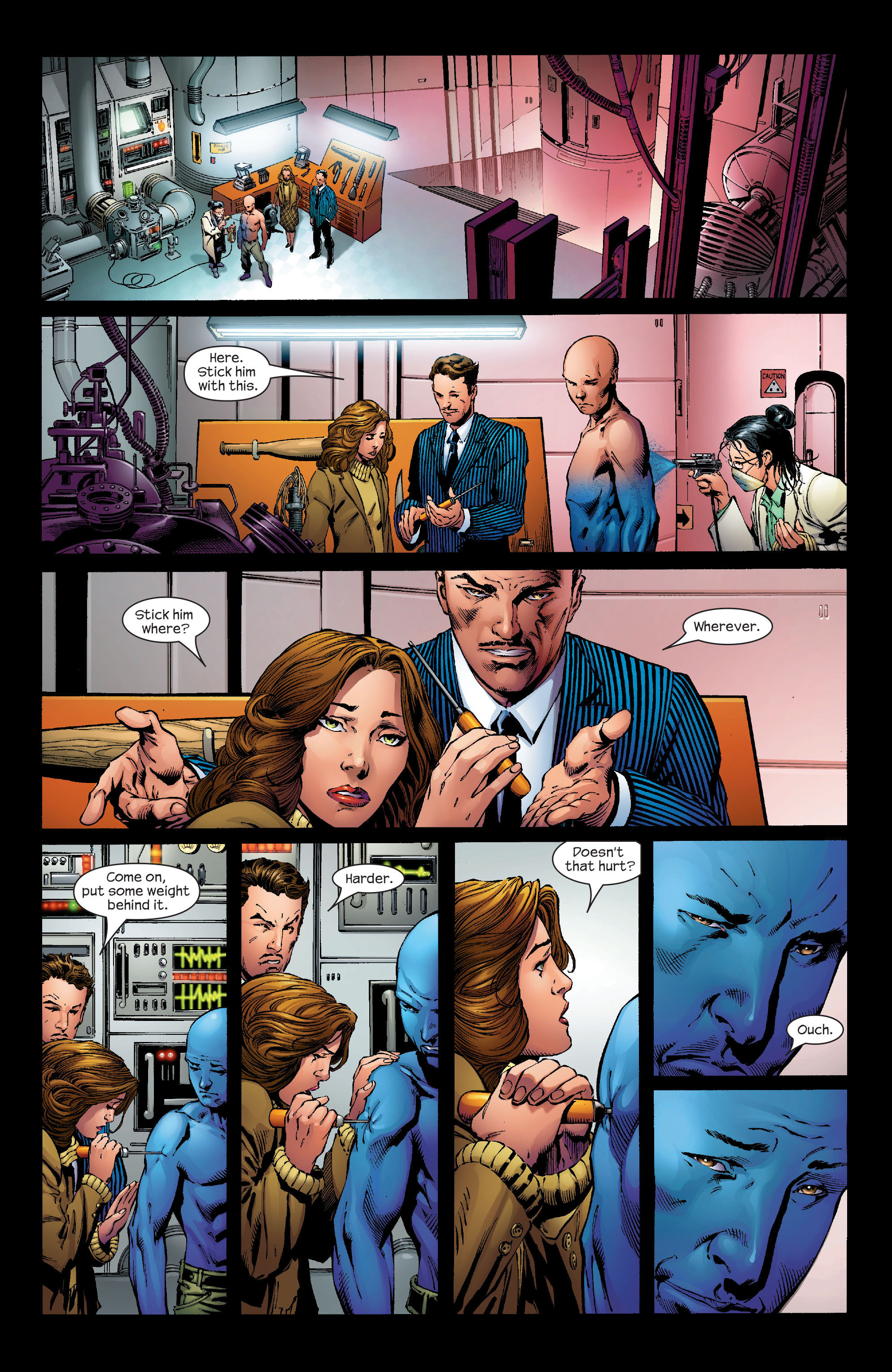 Read online Ultimate Iron Man (2005) comic -  Issue #1 - 3