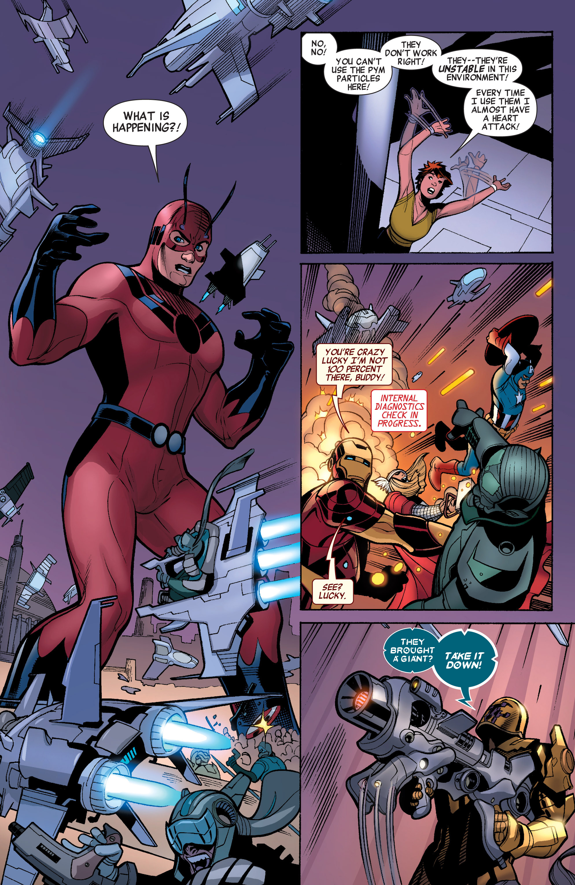 Read online Avengers (2010) comic -  Issue #33 - 7