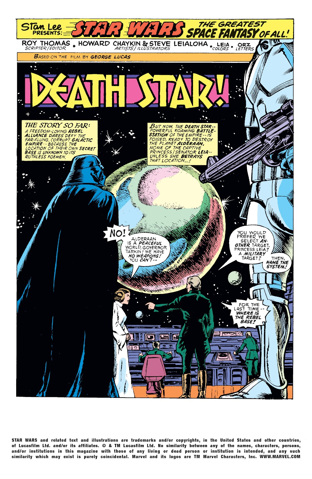 Star Wars (1977) Issue #3 #6 - English 2