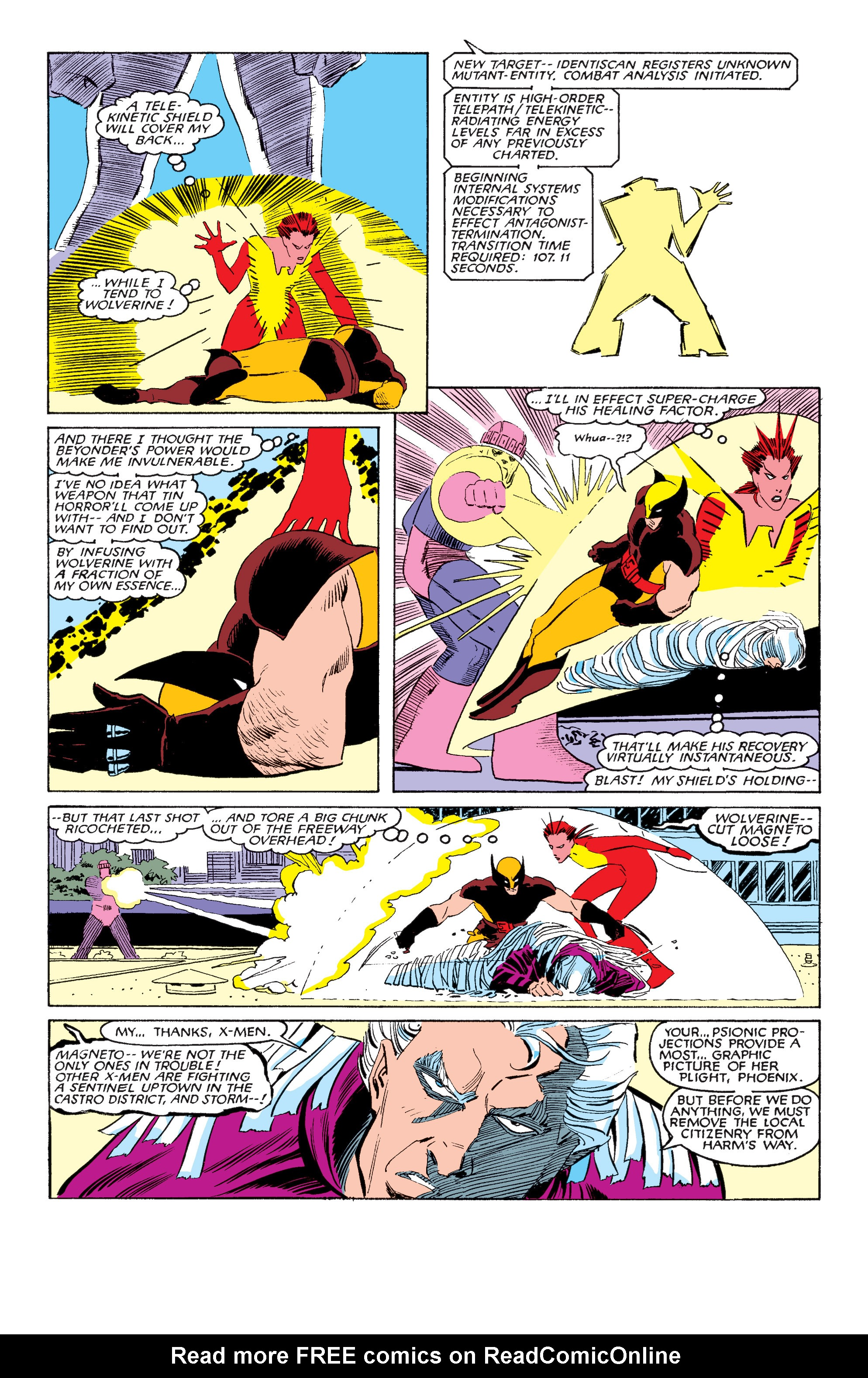 Read online Uncanny X-Men (1963) comic -  Issue #202 - 20