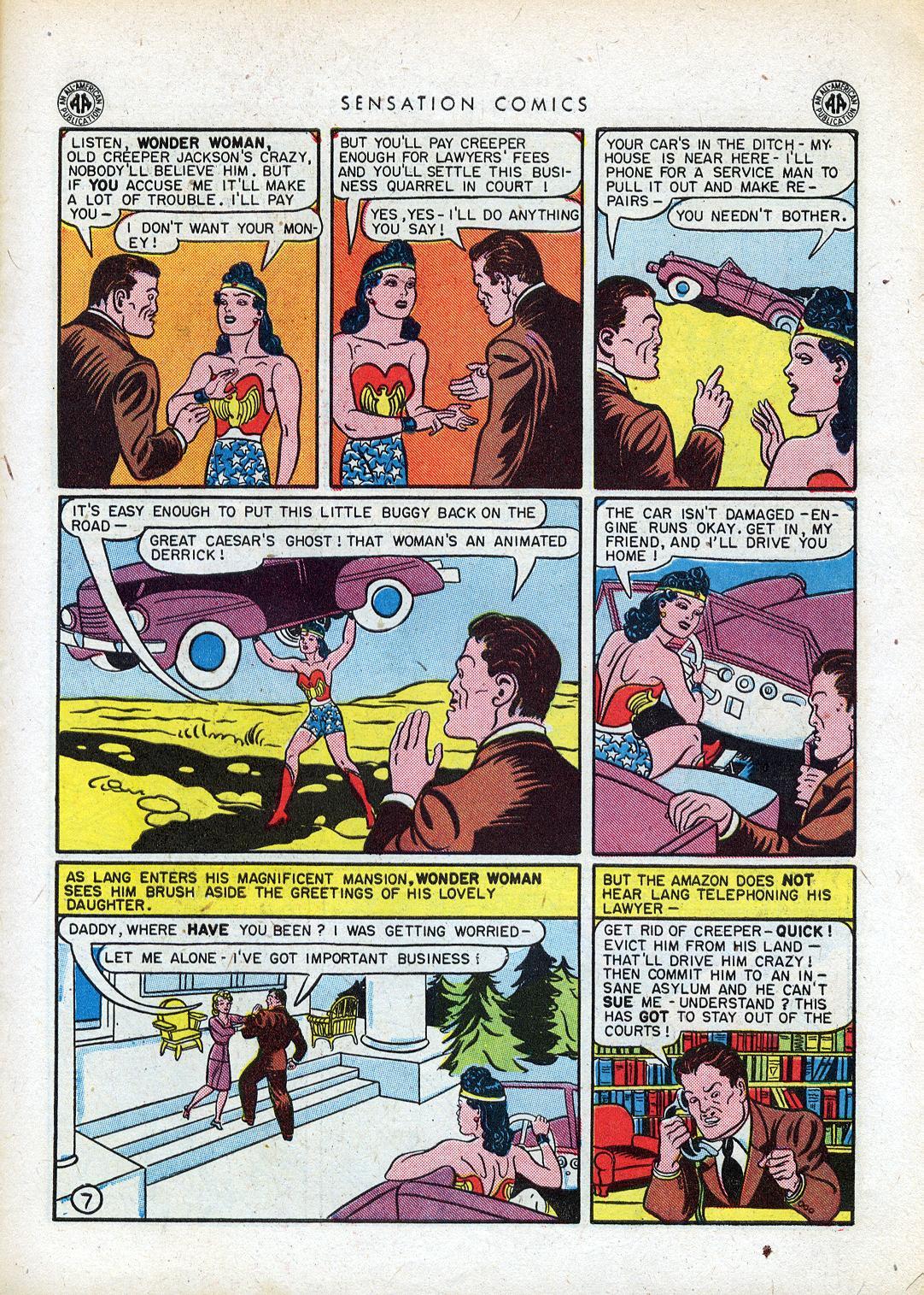 Read online Sensation (Mystery) Comics comic -  Issue #41 - 9