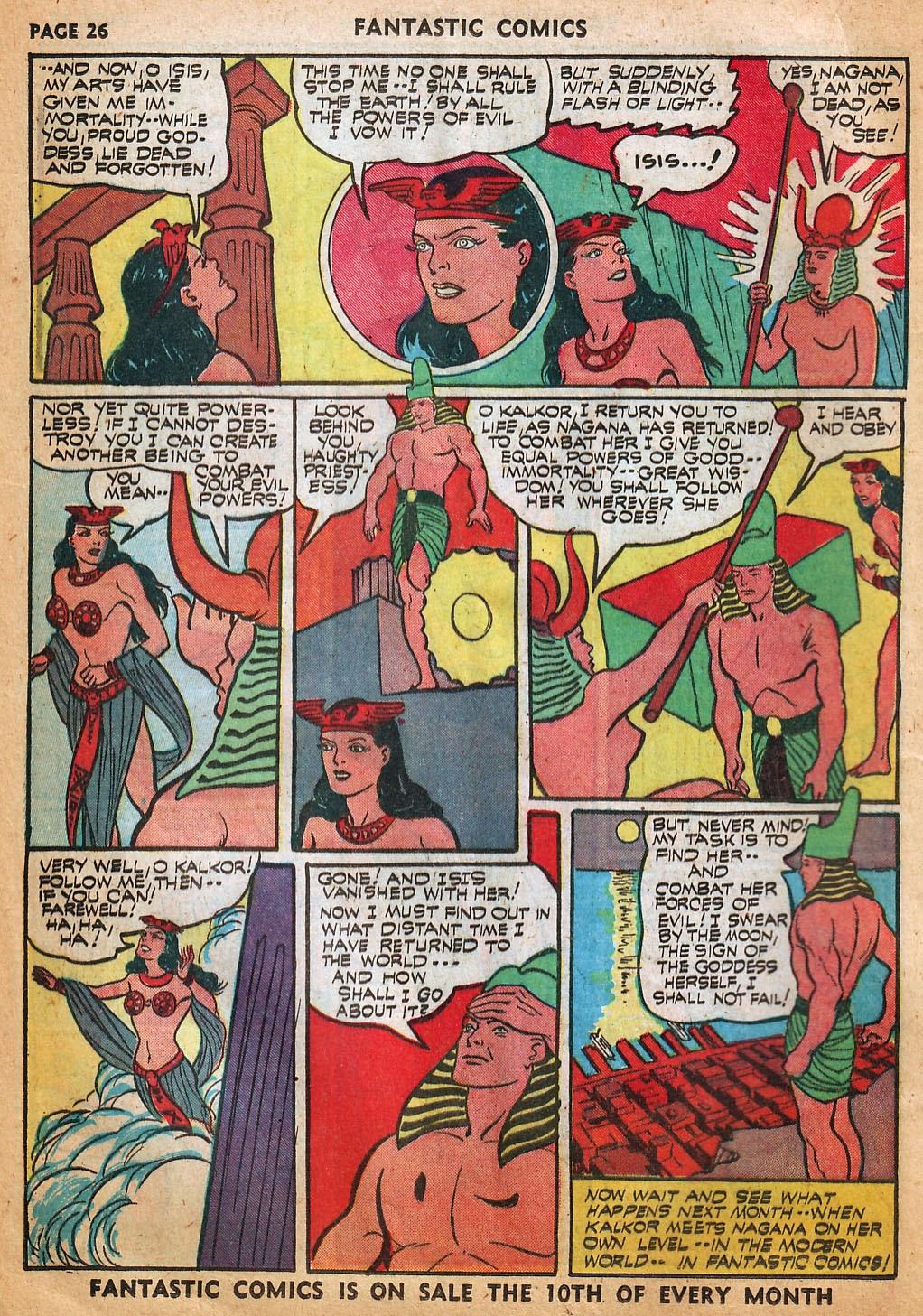 Read online Fantastic Comics comic -  Issue #22 - 28