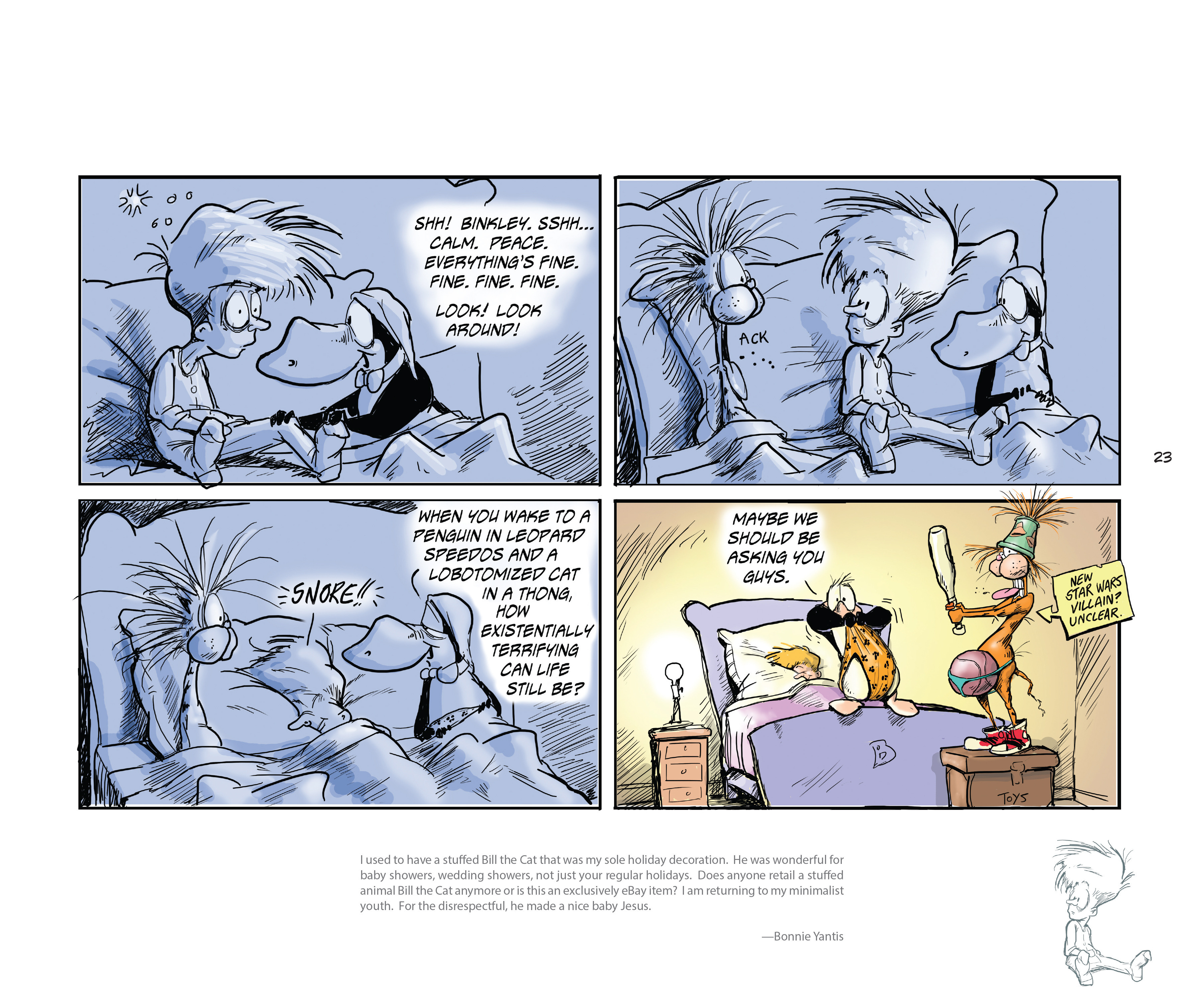Read online Bloom County Episode XI: A New Hope comic -  Issue # Full - 25
