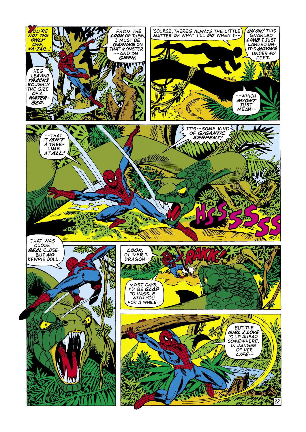 The Amazing Spider-Man (1963) 103 Page 22
