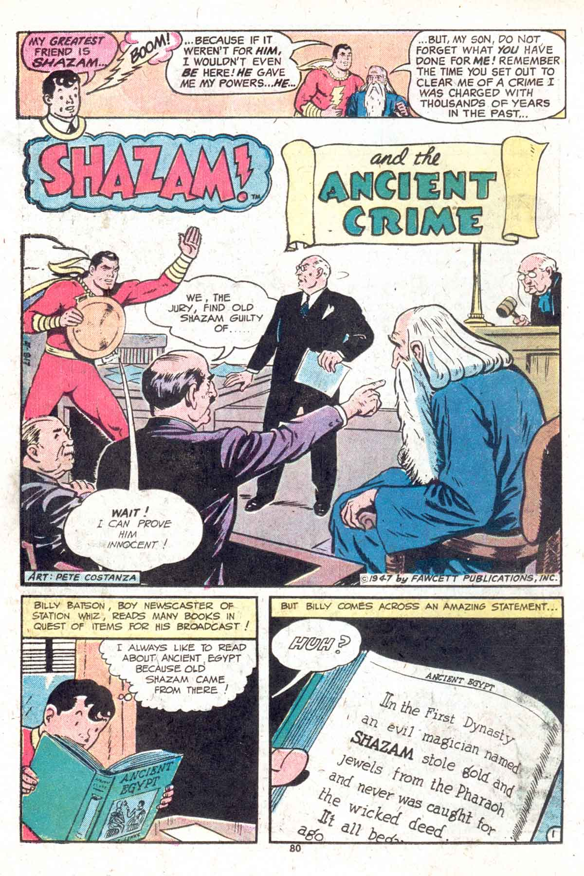 Read online Shazam! (1973) comic -  Issue #13 - 81