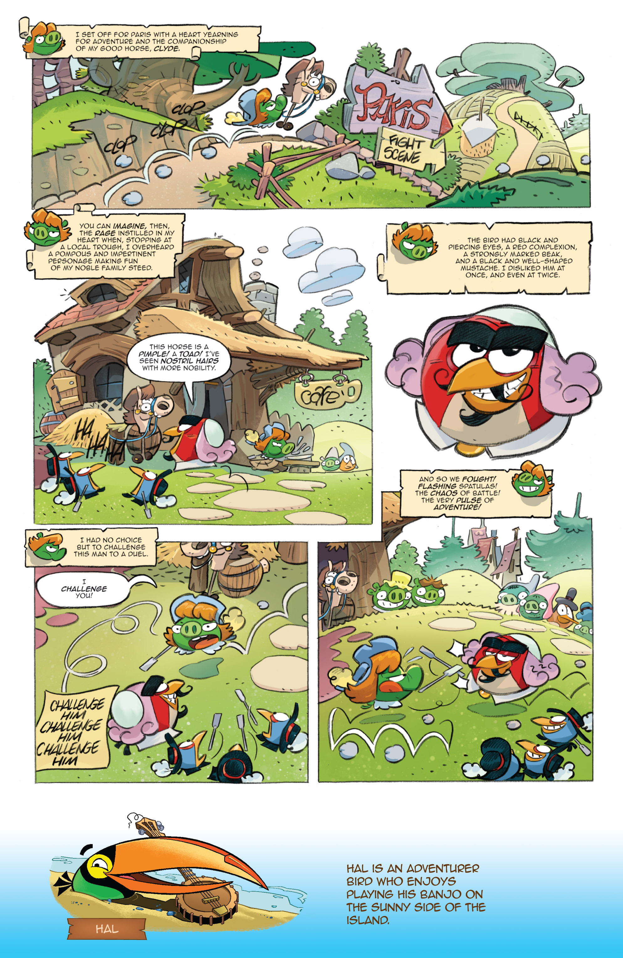 Read online Angry Birds Comics (2016) comic -  Issue #1 - 14