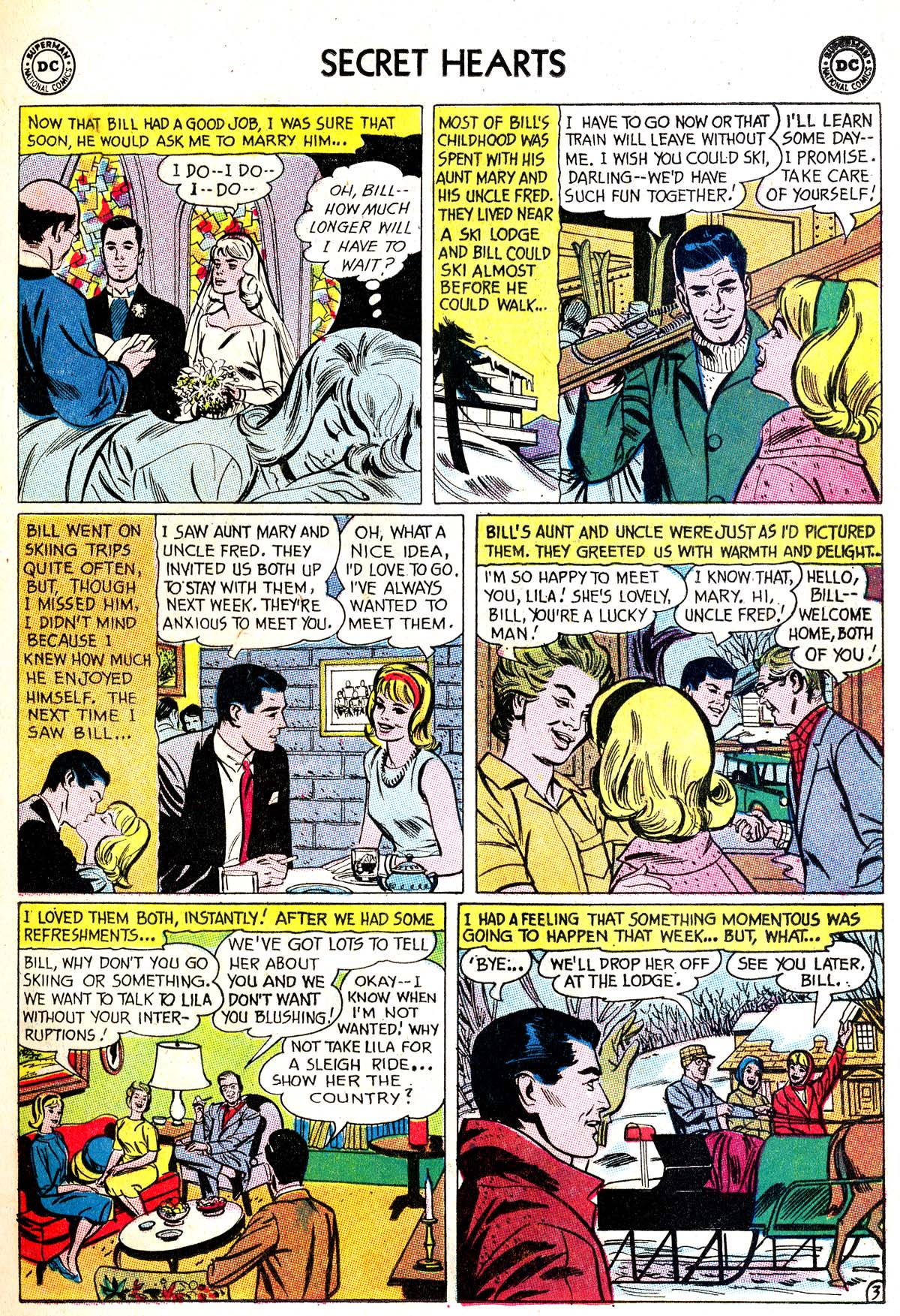 Read online Secret Hearts comic -  Issue #87 - 5