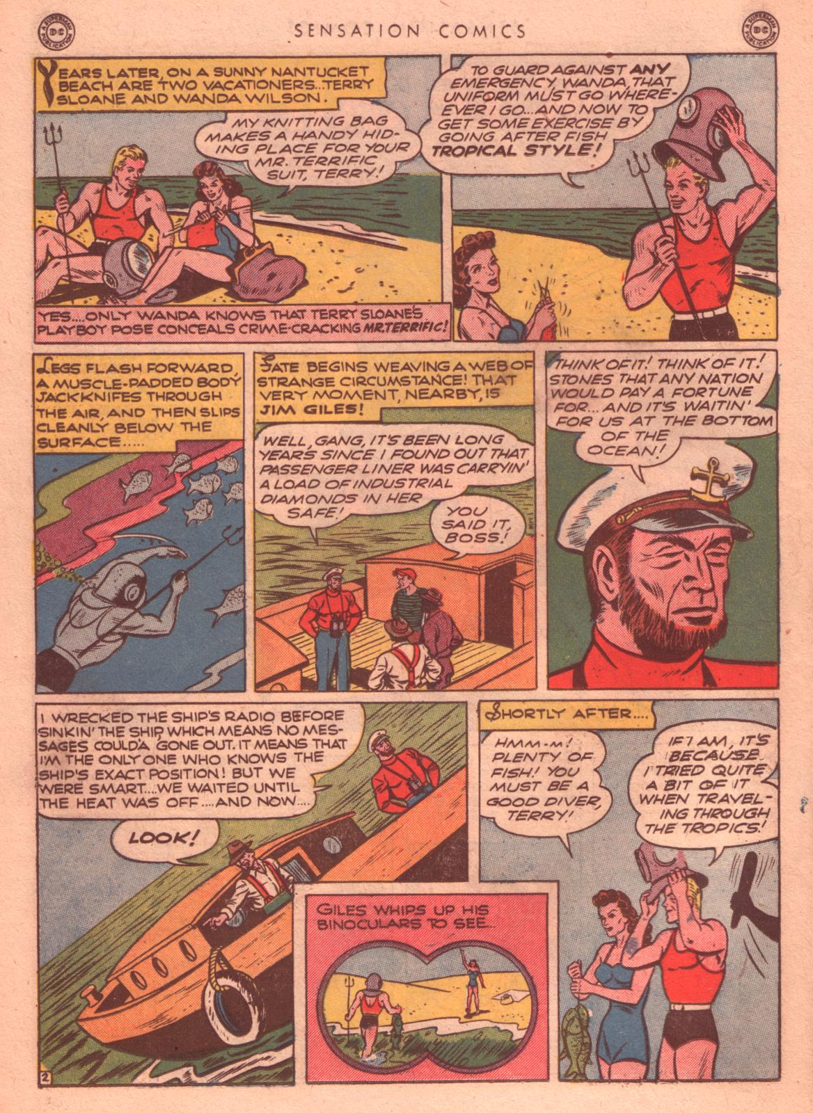 Read online Sensation (Mystery) Comics comic -  Issue #35 - 32