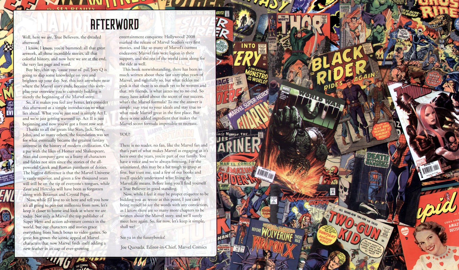 Read online Marvel Chronicle comic -  Issue # TPB (Part 3) - 117
