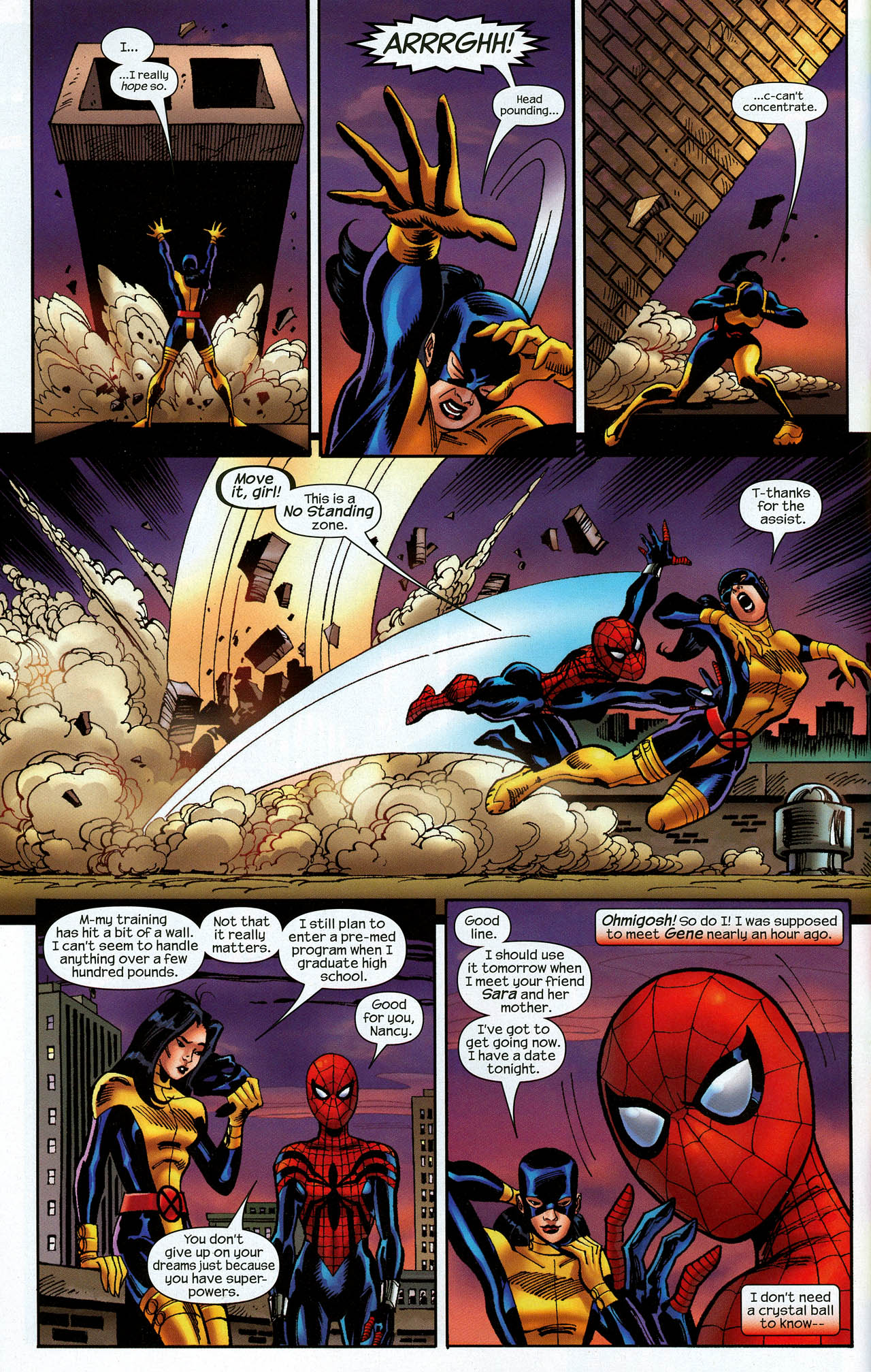 Read online Amazing Spider-Girl comic -  Issue #22 - 6
