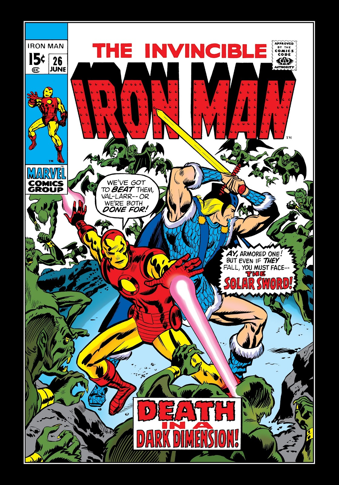 Read online Marvel Masterworks: The Invincible Iron Man comic -  Issue # TPB 7 (Part 1) - 9