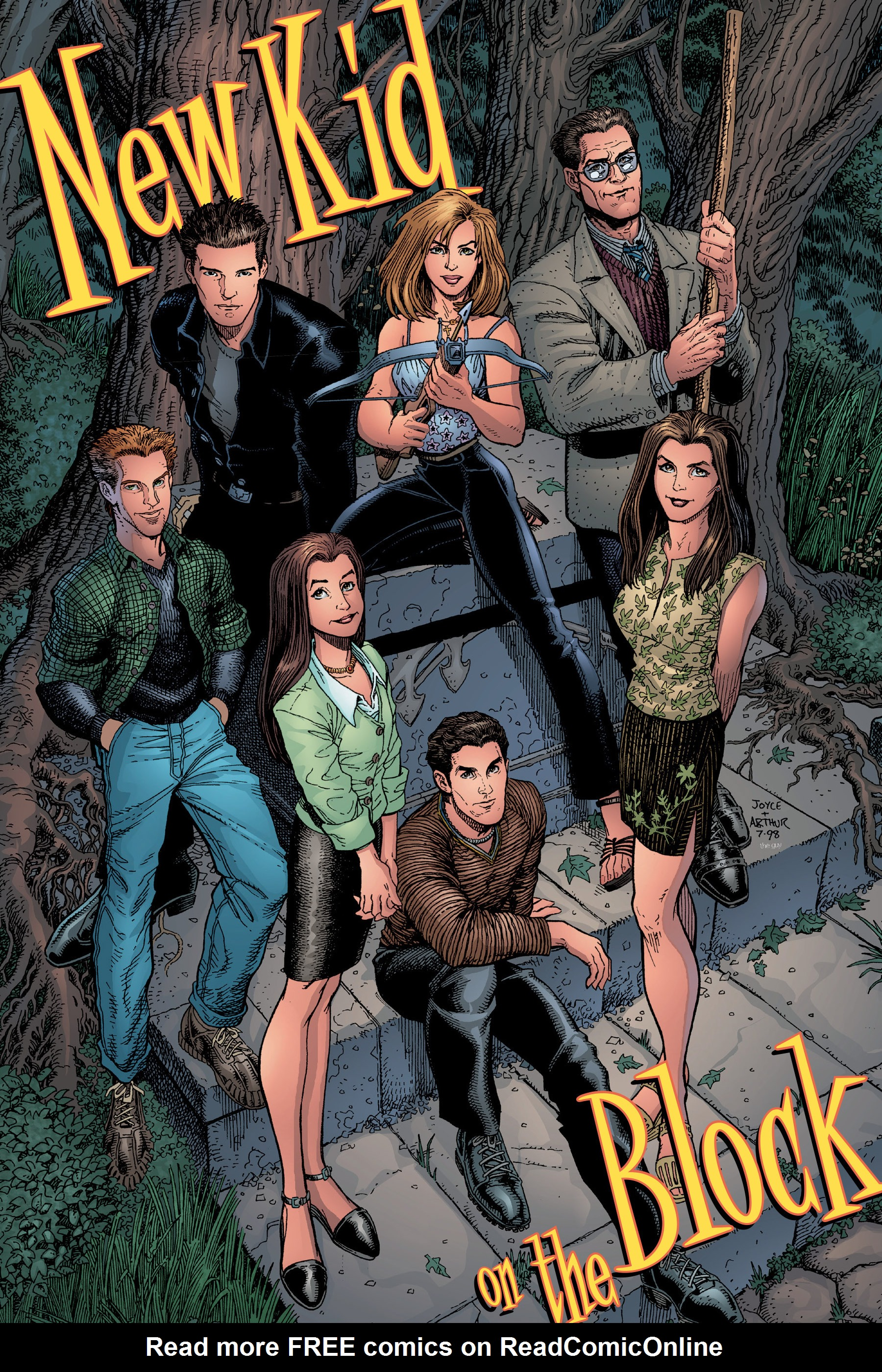Read online Buffy the Vampire Slayer: Omnibus comic -  Issue # TPB 3 - 129