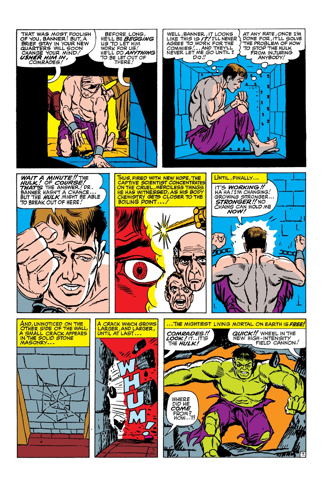 Read online Marvel Masterworks: The Incredible Hulk comic -  Issue # TPB 2 (Part 1) - 86
