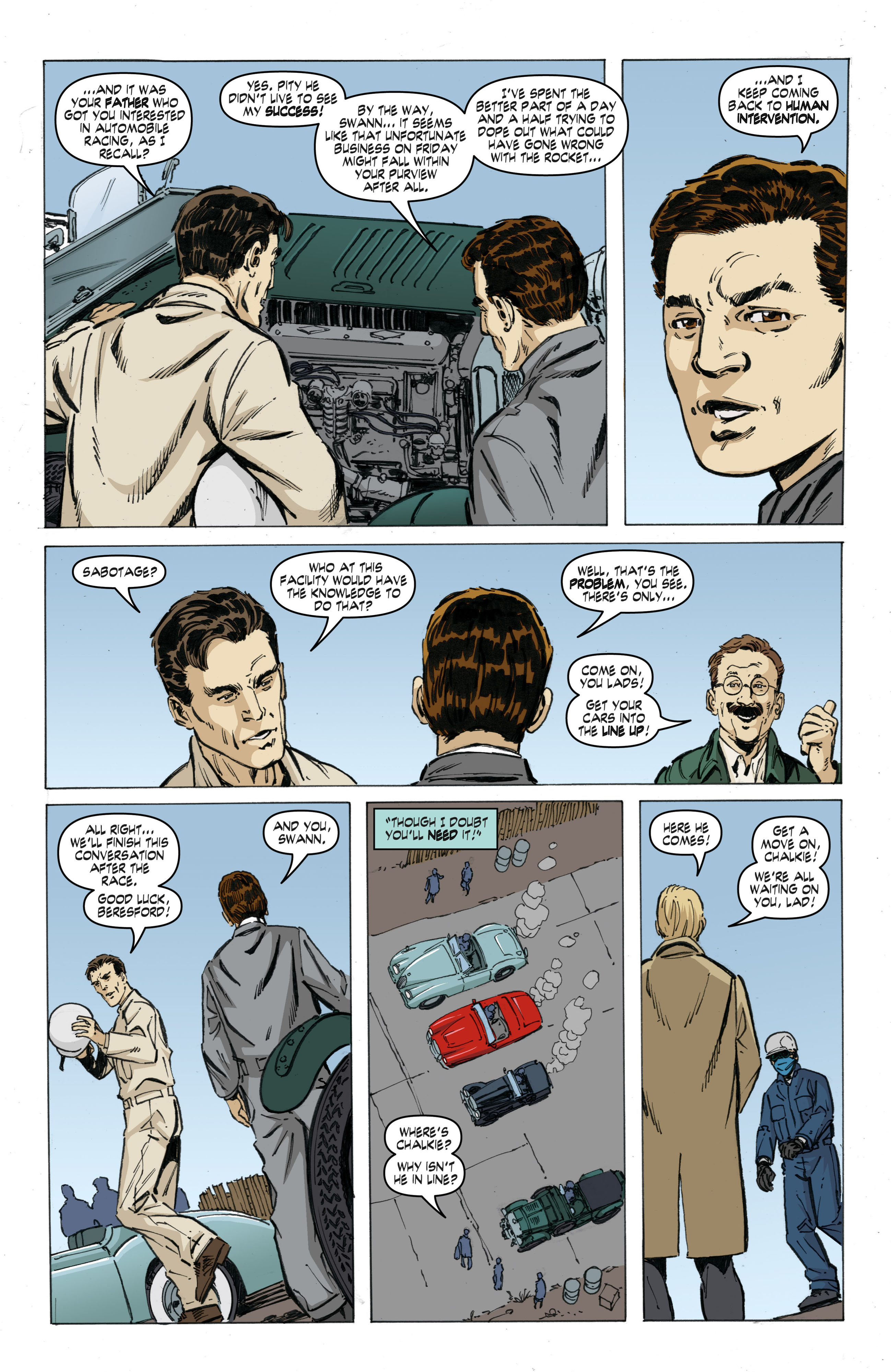 Read online Cold War comic -  Issue # TPB - 47