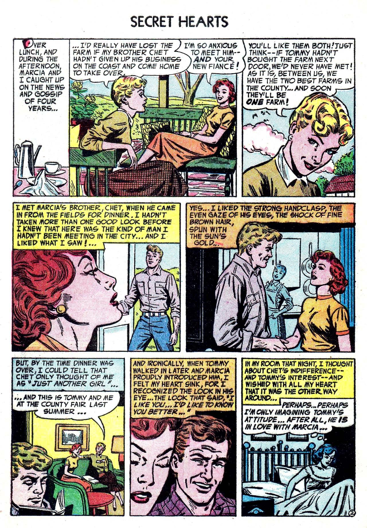 Read online Secret Hearts comic -  Issue #20 - 4