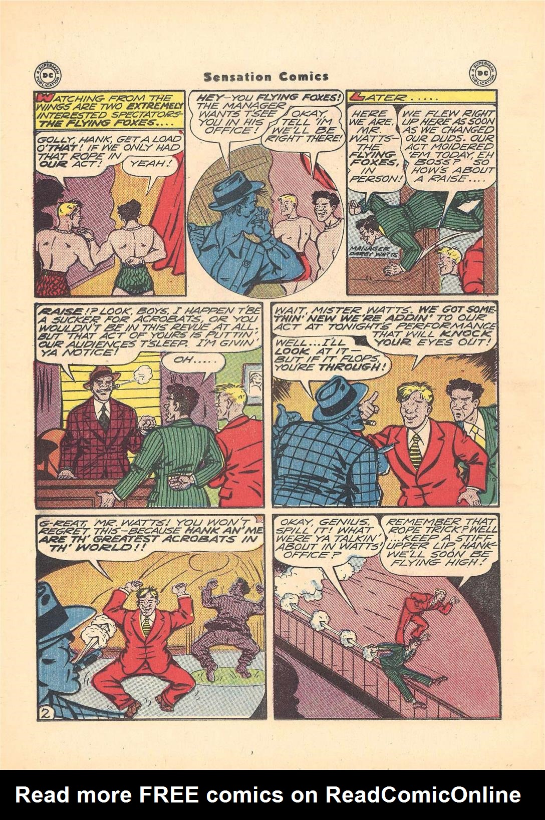 Read online Sensation (Mystery) Comics comic -  Issue #55 - 26