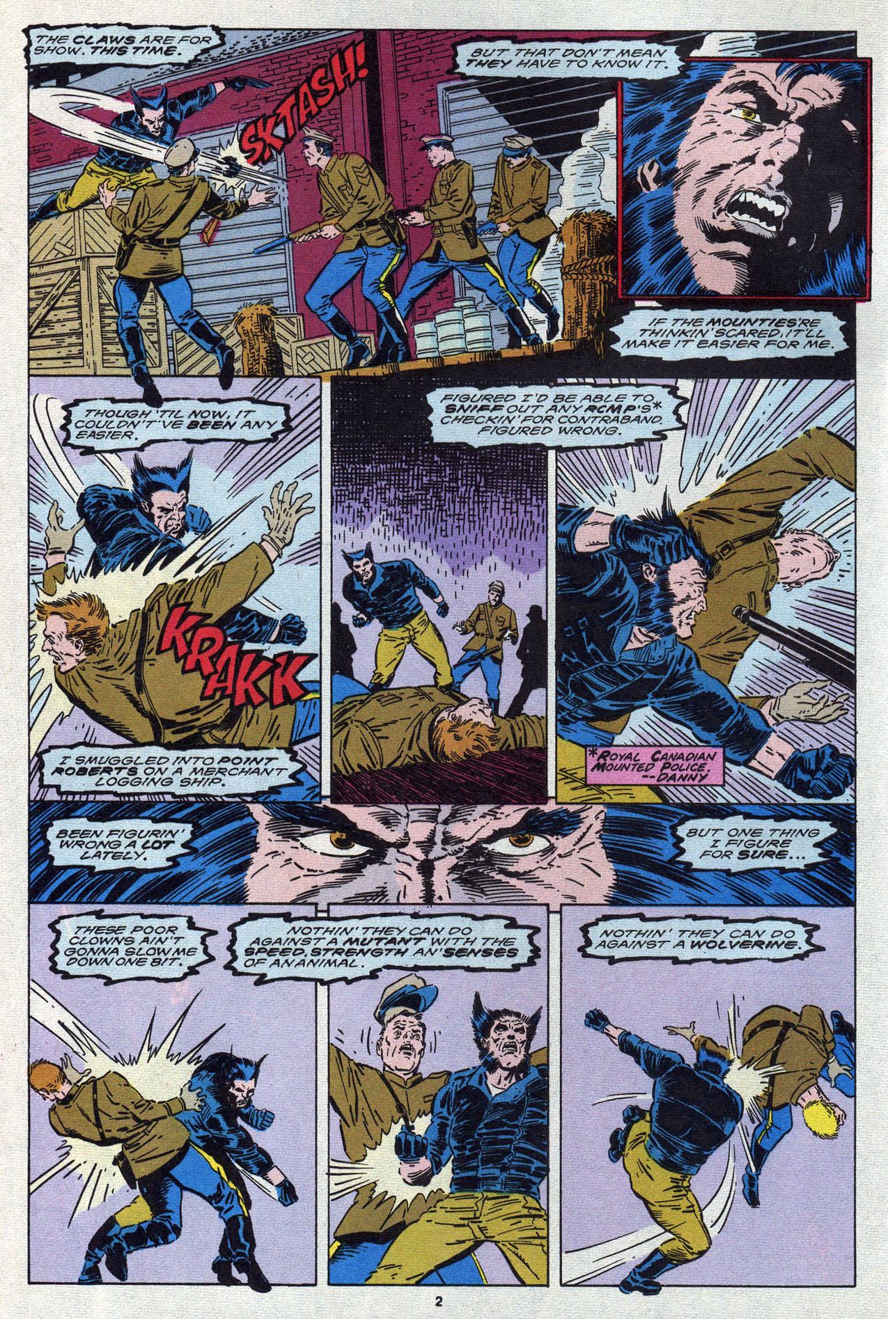 Read online Alpha Flight (1983) comic -  Issue #87 - 4