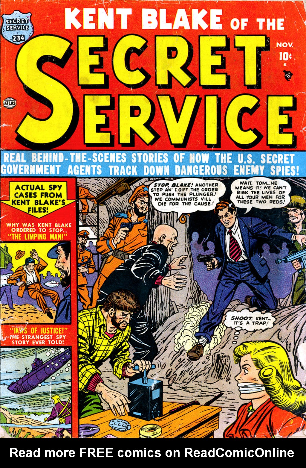 Kent Blake of the Secret Service issue 4 - Page 1