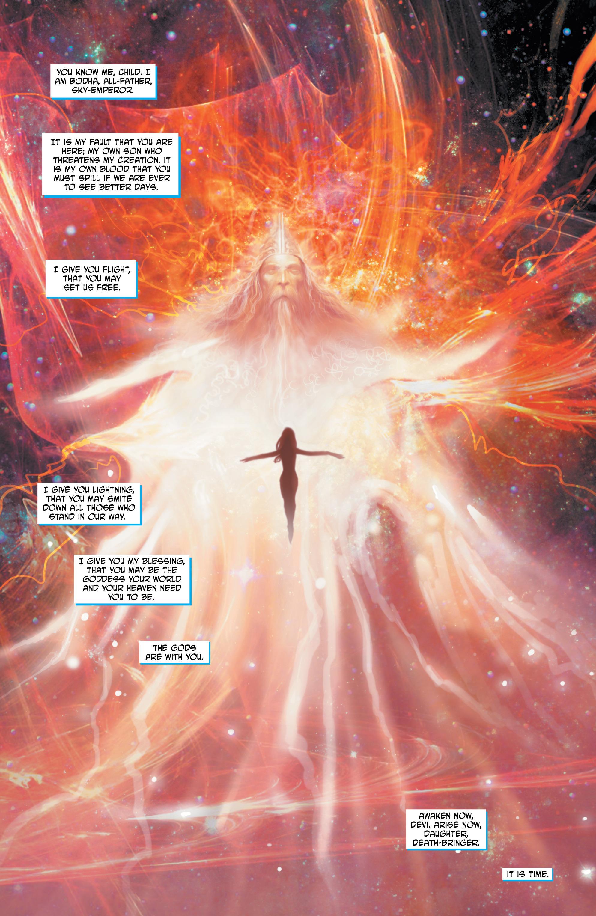 Read online Shekhar Kapur's Devi: Rebirth comic -  Issue #5 - 19