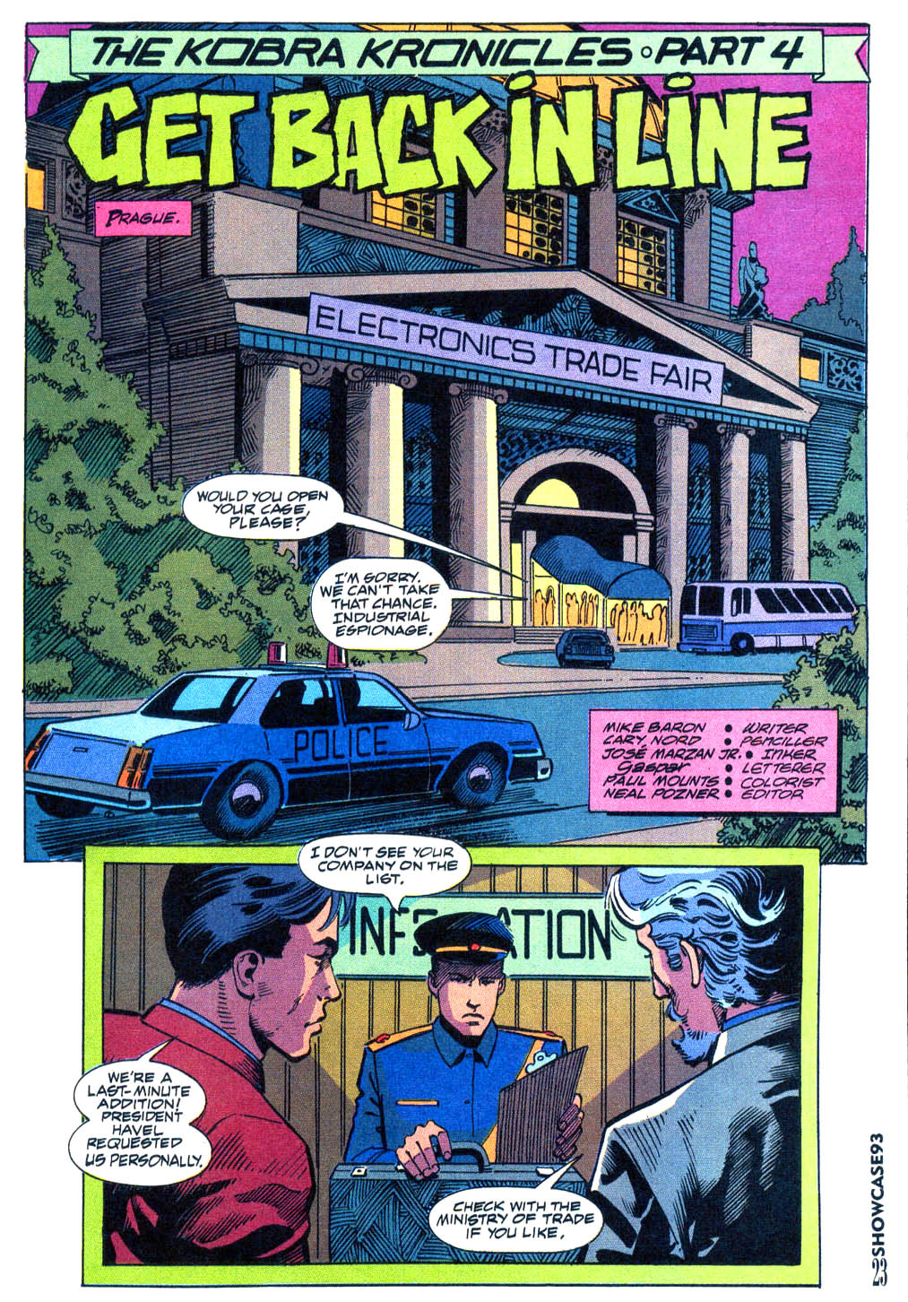 Read online Showcase '93 comic -  Issue #9 - 19