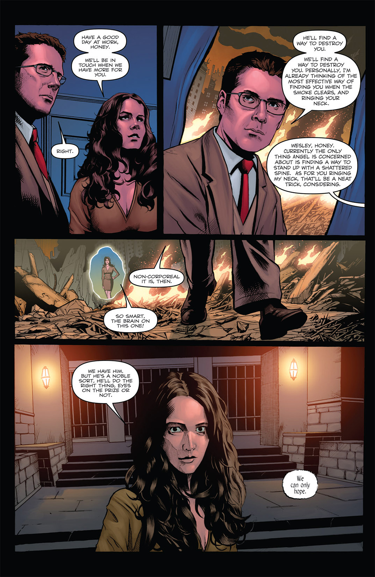 Read online Angel: After The Fall comic -  Issue #7 - 14