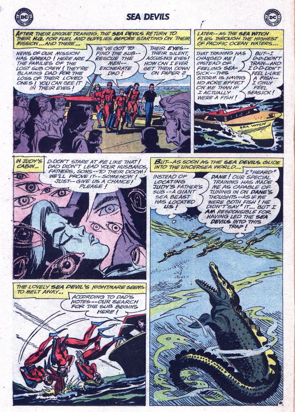 Read online Sea Devils comic -  Issue #15 - 8