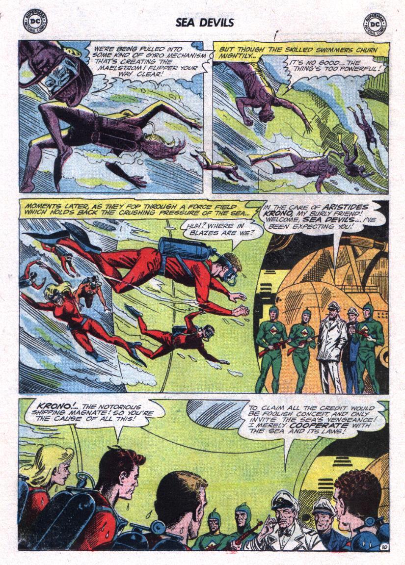 Read online Sea Devils comic -  Issue #23 - 14