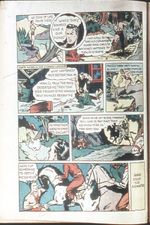 Read online Amazing Man Comics comic -  Issue #18 - 8