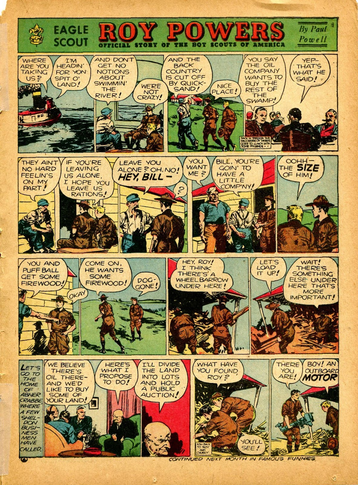 Read online Famous Funnies comic -  Issue #84 - 45