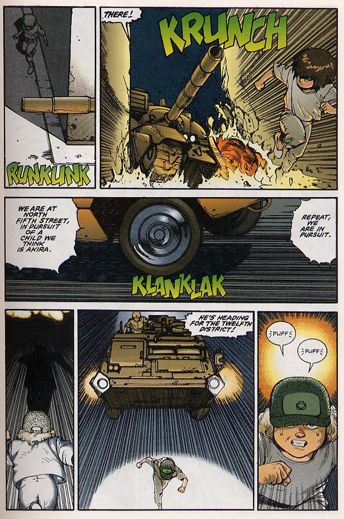 Read online Akira comic -  Issue #15 - 16