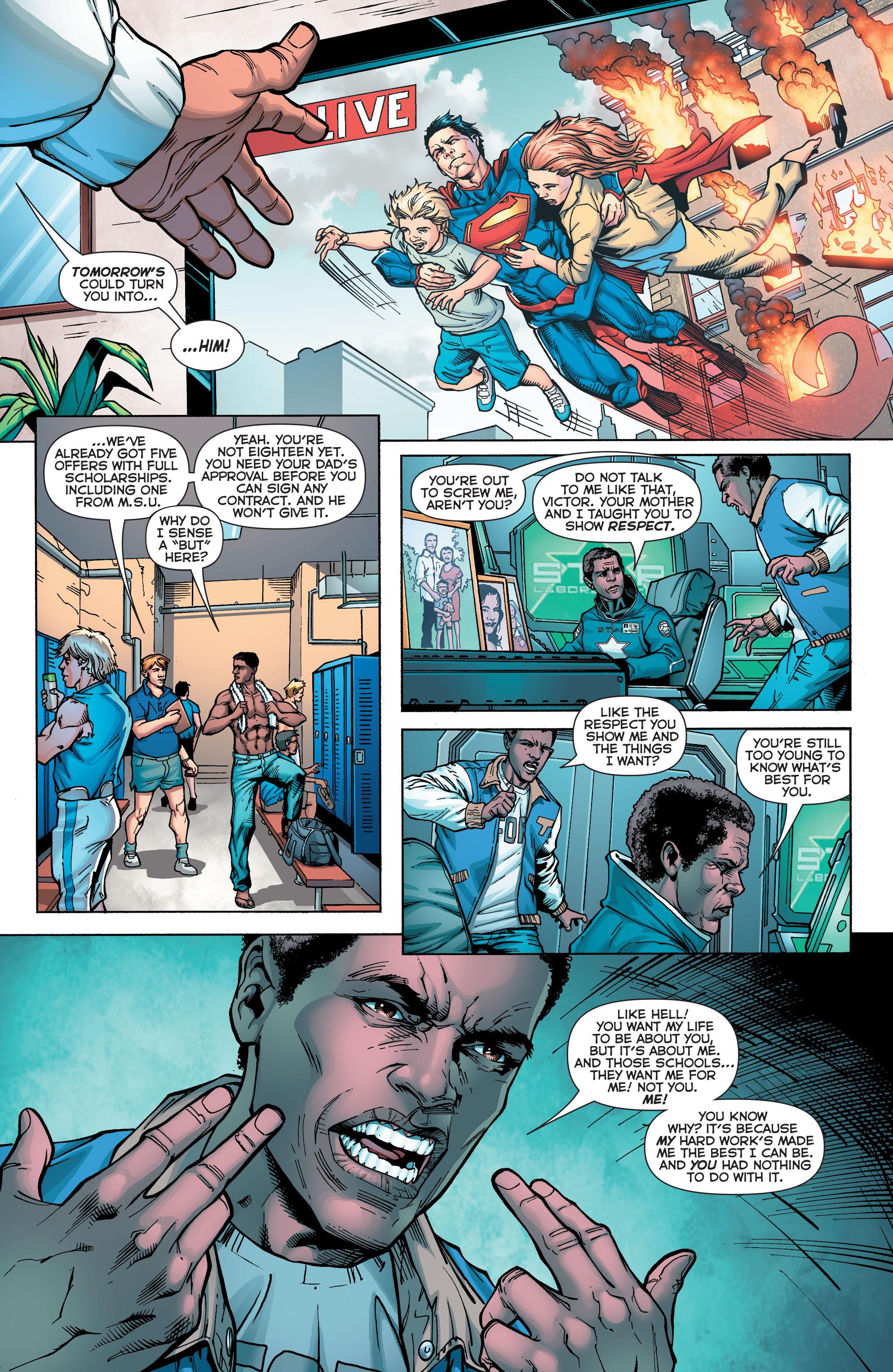 Read online Secret Origins (2014) comic -  Issue #5 - 5