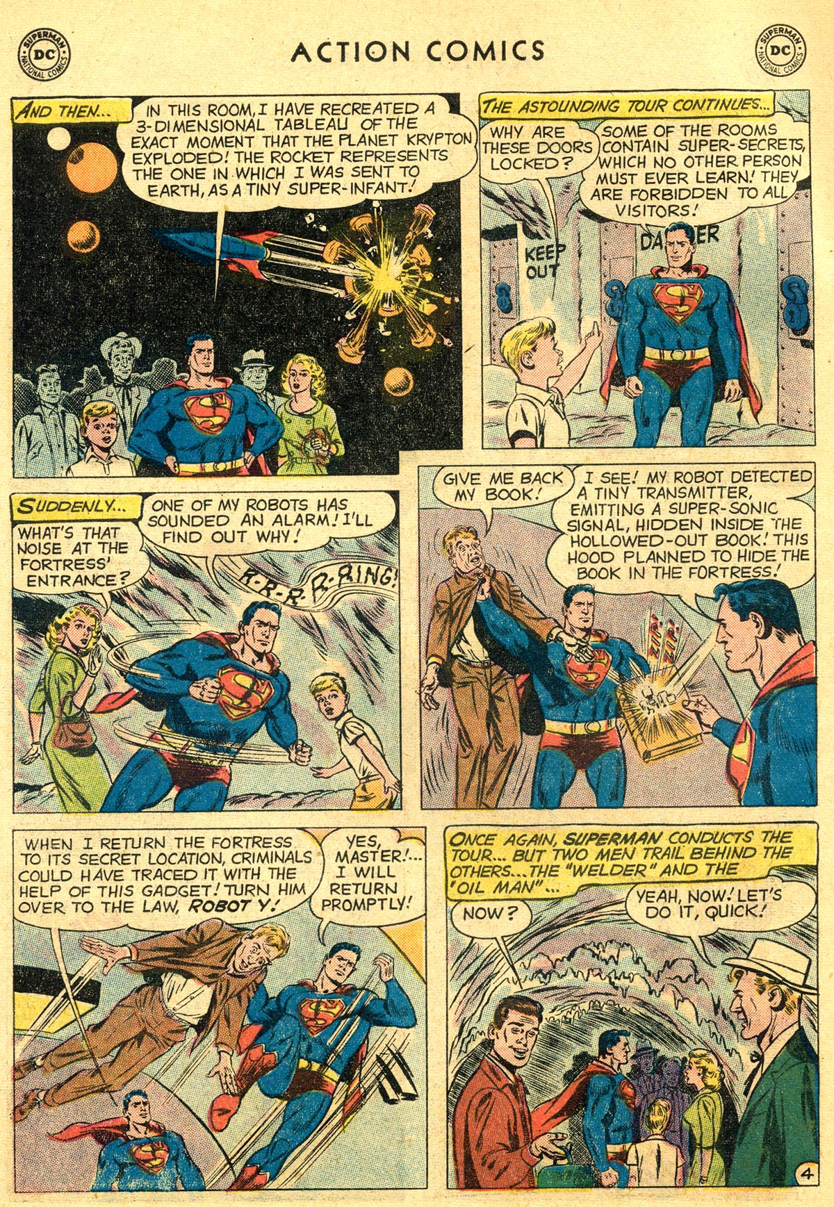 Read online Action Comics (1938) comic -  Issue #261 - 6