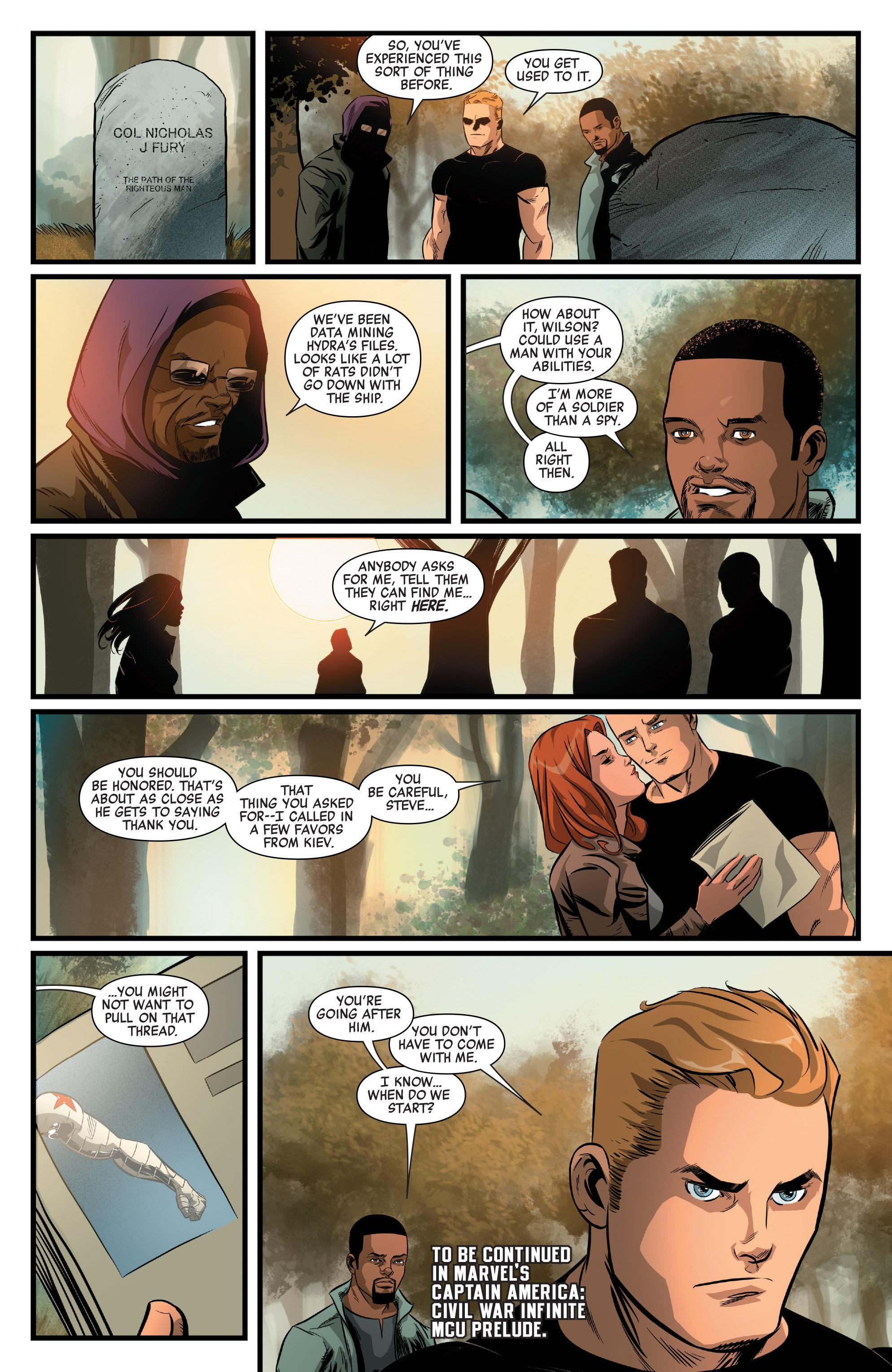 Read online Captain America: Civil War Prelude comic -  Issue #4 - 22