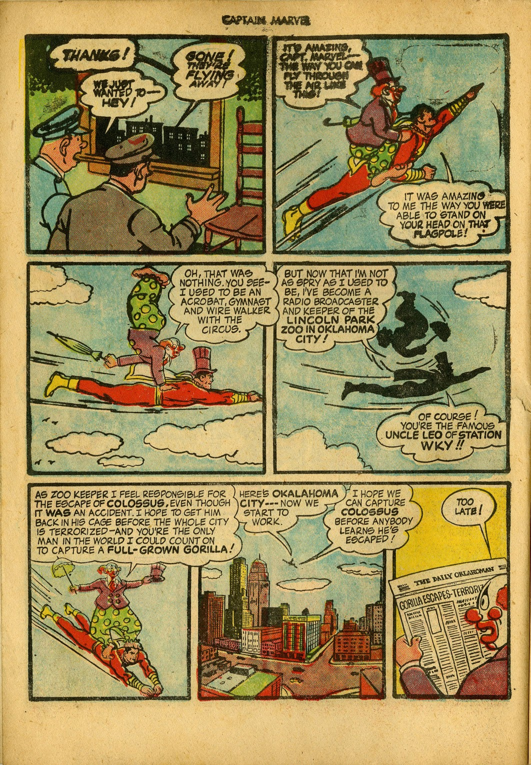 Captain Marvel Adventures issue 34 - Page 6